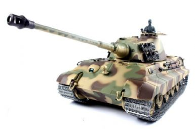 German King Tiger Henschel RC Tank 1:16 (OUT OF STOCK)